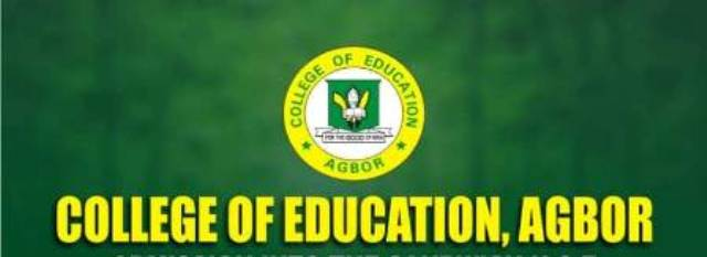 College of Education Agbor Courses & Requirements