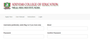 aceondo part-time nce form