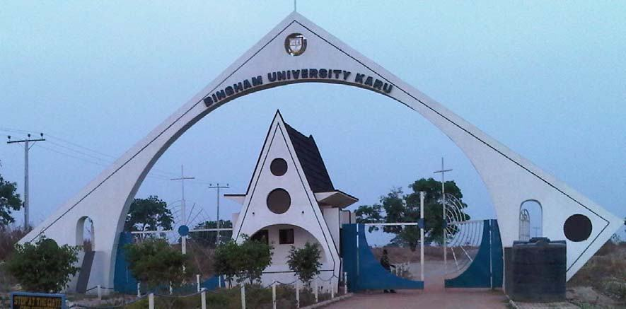 Bingham University notice on ongoing admission and Post-UTME screening for 2020/2021