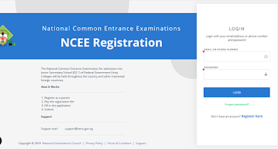 NCEE JSS 1 Federal Schools Form is Out: Procedures, Price and Closing Date, Exams Date