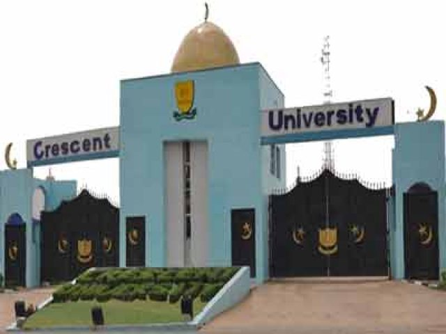 Crescent University School Fees Schedule for 2020/2021 session