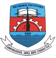 The Admission Exercise into Federal Polytechnic Ede is NOW OPEN!!! Application for Admission exists for ND (Full Time), ND (Daily Part-time), ND (Regular Part-time) and HND (Full Time) of the Institution