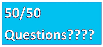 Attempting 50/50 Questions
