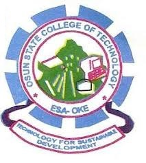 Osun State College of Technology Post UTME (ND Fulltime) Requirments and Eligibility